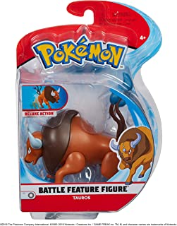 Pokèmon Battle Feature Figure Tauros, Newest Edition 2019 - Catch Em' All!