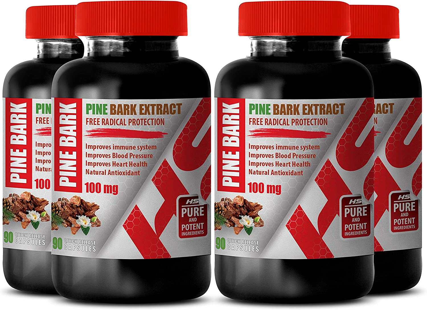 Brain Booster and Vitamin - Pine Extract A 100 gift Our shop OFFers the best service Natural MG BARK