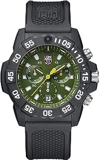 Reloj de Cuarzo Luminox Sea Navy Seal Chronograph 3580 Series, Verde, XS.3597