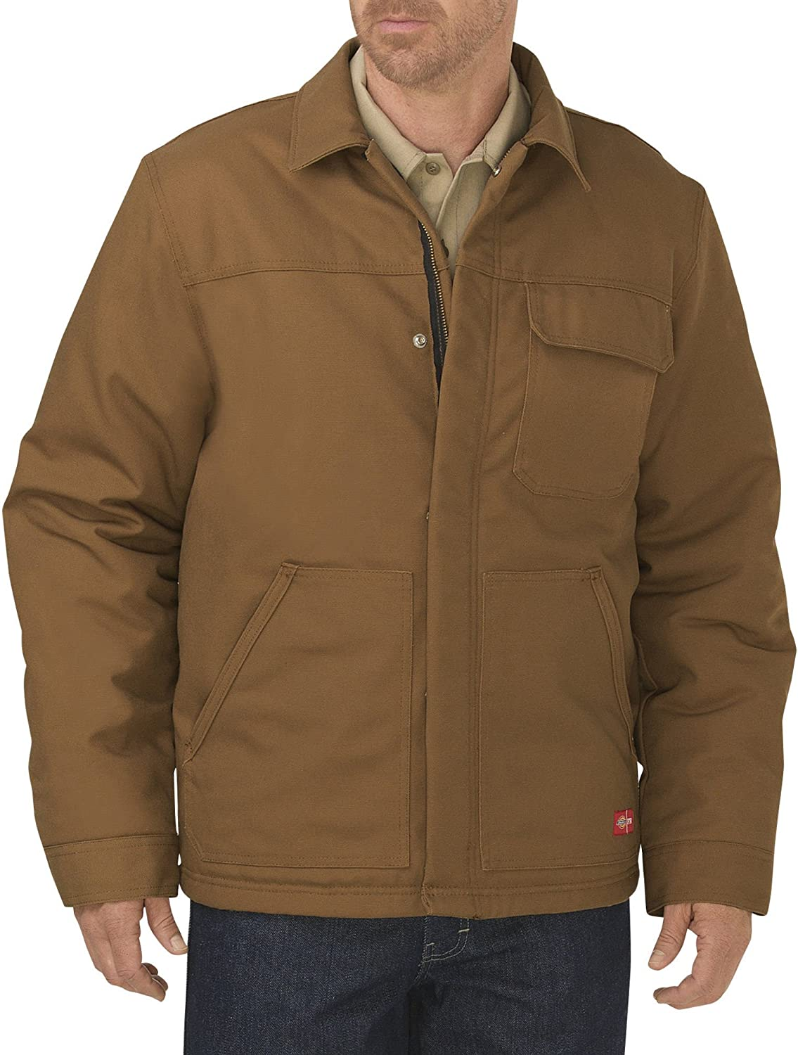 Dickies Mens Flame-Resistant Insulated Duck Jacket