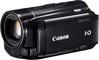 Canon デジタルビデオカメラ iVIS HF M52 ブラック 光学10倍ズーム フルフラットタッチパネル IVISHFM52BK