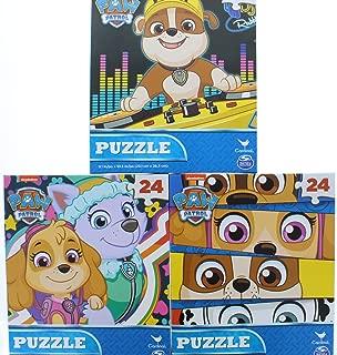 3 Pk. Paw Patrol Jigsaw Puzzle 24 Piece (Assorted Puzzles)