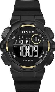 Timex Unisex Mako DGTL Silicone Strap Watch