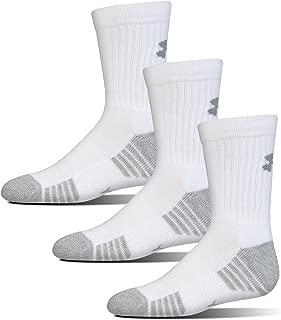 Youth Heatgear Tech Crew Socks, 3-Pair