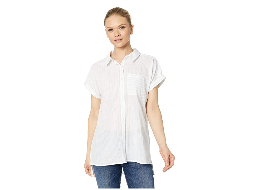 ExOfficio Lencia Short Sleeve Shirt (White) Women