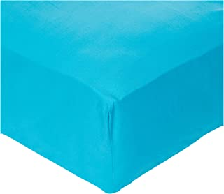 IBed HomeLuxury Fitted sheet 3Pcs Set - Cotton 200 Thread Count, King Size, Turqoise