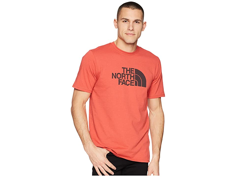 The North Face Bottle Source Logo Tee (Sunbaked Red) Men