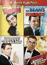Rowan Atkinson 4-Movie Collection (Bean the Movie / Mr. Bean's Holiday / Johnny English / Johnny English Reborn)