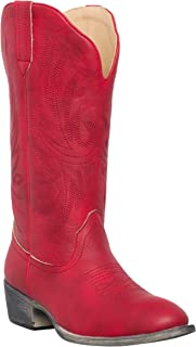 Women's Western Cowgirl Cowboy Boot | Cimmaron Round Toe by Silver Canyon