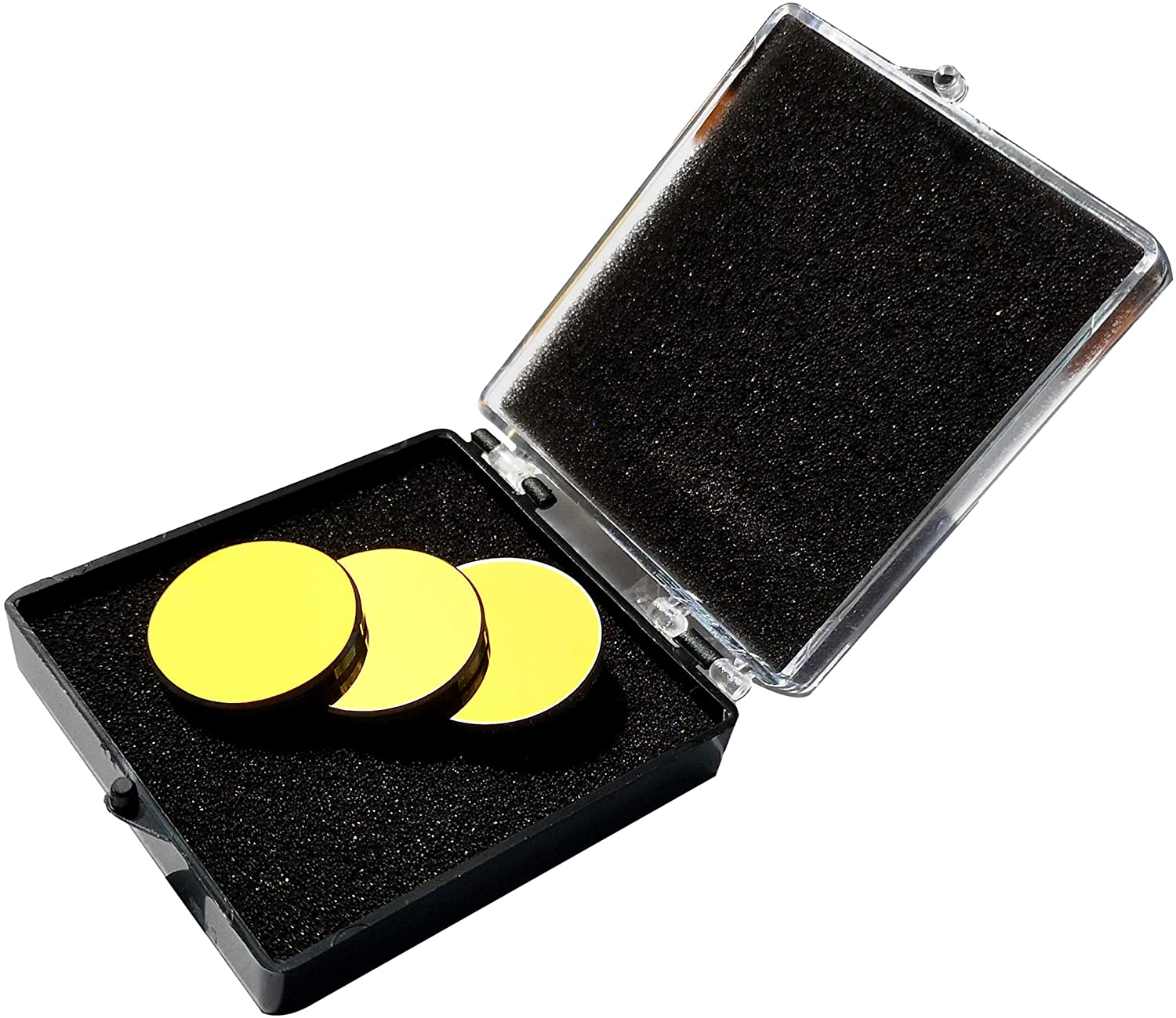 CNCOLETECH 3PCS Si Seasonal Wrap入荷 Mirror Coated Gold for Dia:20mm Eng CO2 Laser 格安