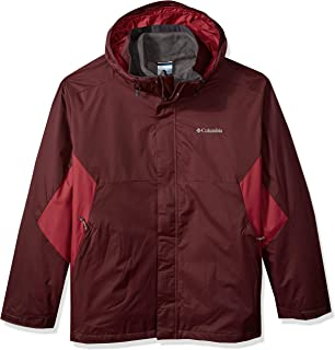 Columbia Men's Big and Tall Eager Air Interchange Jacket