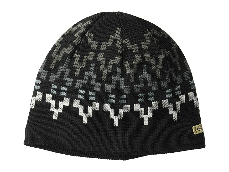 Columbia Alpine Action Beanie (Black Broken Fair Isle) Beanies