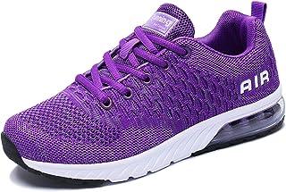 PENGCHENG Men Women Athletic Running Shoes Air Cushion Tennis Sneakers Lightweight Breathable Walking Sport Shoe for Women