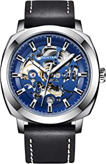 BENYAR Automatic Mechanical Watches for Men Skeleton...