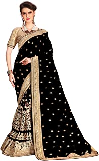 Best black and gold half saree Reviews