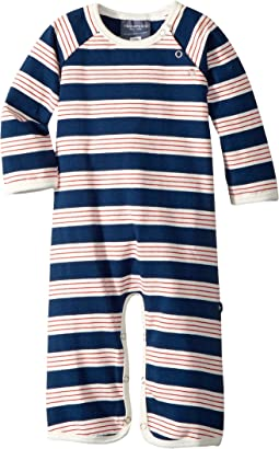 Toobydoo - French Stripe II Jersey Knit Bootcut Jumpsuit (Infant)