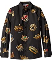 Dolce & Gabbana Kids - D&G King Button Up (Big Kids)