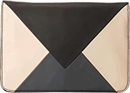 Sharp & Graphic Convertible Clutch