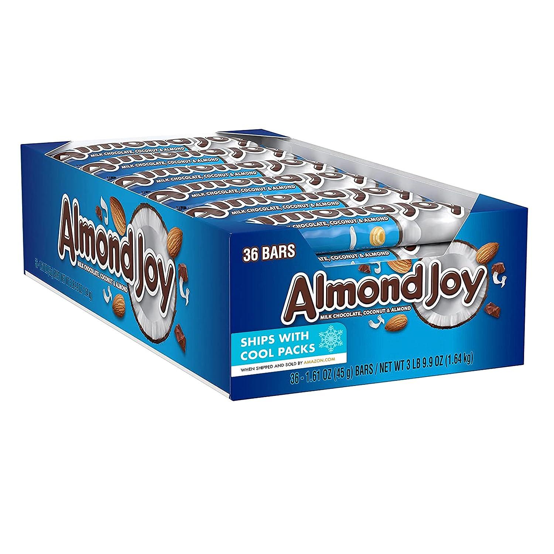 ALMOND JOY Coconut and Almond Chocolate Bar oz Bulk Ranking TOP16 Daily bargain sale Candy 1.61