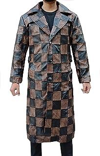 Trench - Cappotto da uomo in pelle per uomo