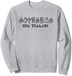 New Zealand Shirt Aotearoa Maori Down Under Gift Idea Sweatshirt