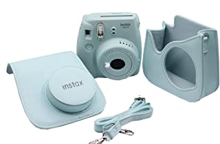 Instax Mini 9 Çanta Deri Ice Blue Mini 9 Çanta Deri Ice Blue