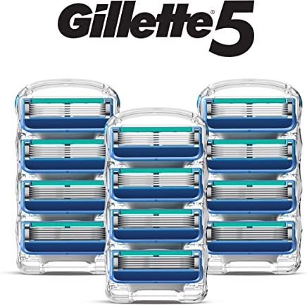Gillette 5 男士剃须刀 12 Cartridges