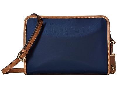 Tommy Hilfiger Julia East/West Crossbody (Navy) Cross Body Handbags