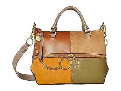 See by Chloe Emy Shoulder Bag (Luminous Ochre) Handbags