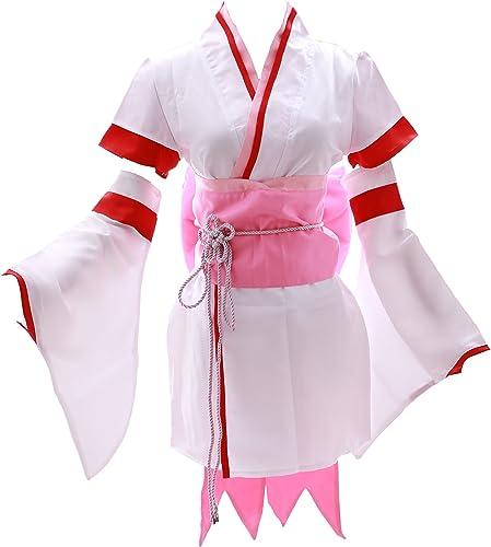 100% autentico Kawaii-Story Kawaii-Story Kawaii-Story MN DE 17Memoria RE  Zero Kara Haji Meru isekai seik atsu blanco Kimono Juego Cosplay Disfraz  comprar nuevo barato