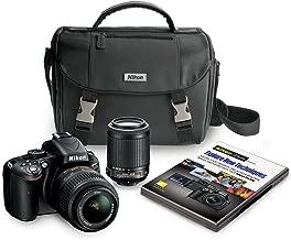 Nikon D5100 16.2 MP CMOS Digital SLR Camera Bundle with 18-55mm and 55-200mm VR AF-S Lenses