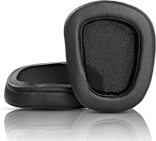 Ersatz Ohrpolster kompatibel mit Logitech G935 G635 G933 G633, kabelloses Gaming Headset, Schaumstoff (PU Leder)