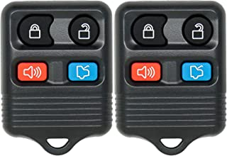 Pack of 2 Mushan Reomote Key Replacement for CWTWB1U212 Keyless Entry Fob fits 2001-2012 Ford Escape,1998-2015 Ford Explorer,2001-2012 Lincoln Navigator, 2005-2011 Mercury Mariner