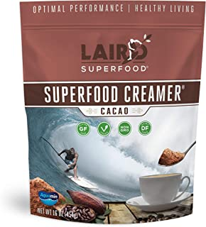 Laird Superfood Non-Dairy Coffee Creamer Cacao 1lb