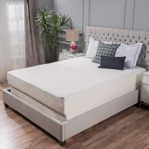 Great Deal Furniture 10 Full Size Memory Foam Mattress