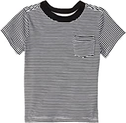 Crew Neck Yard-Dyed Stripe Tee (Toddler/Little Kids/Big Kids)