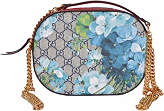 Women's GG Blooms Coated Canvas Small Crossbody Purse