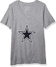 Dallas Cowboys NFL Womens Logo Premier Short Sleeve Tee
