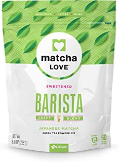 Matcha Love Green Tea Powder Packet, Sweetened, 8 Ounce