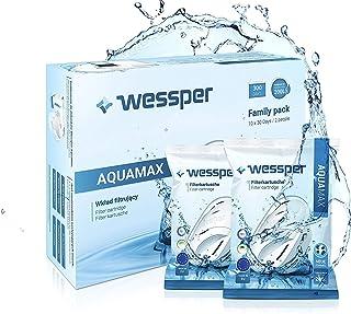 Wessper Cartouche filtrante Compatible avec Brita Maxtra+, Marella Carafe, AmazonBasics, lot de 12