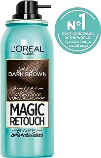 L'Oreal Paris Magic Retouch Instant Root Concealer, Dark Brown75 ml