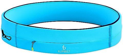 Flipbelt Running & Fitness Workout Belt, Aqua, Medium