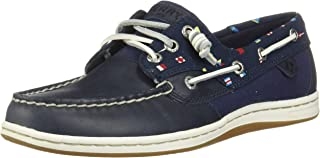 Top-Sider Songfish Nautical Flags Boat Shoe Women's