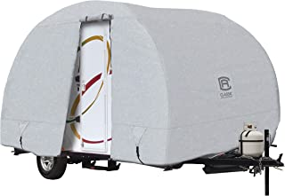 Classic Accessories PermaPro Heavy Duty R-Pod Travel Trailer Cover, Model 3, Grey (Limited