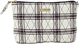 Primitive Crimson Red Patchwork Cotton Heritage Handbags Claire Adjustable Strap Patchwork Antique Brass Hardware Crossbody