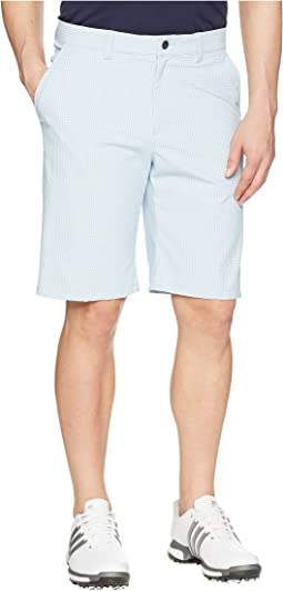 adidas Golf Ultimate Gingham Stretch Shorts