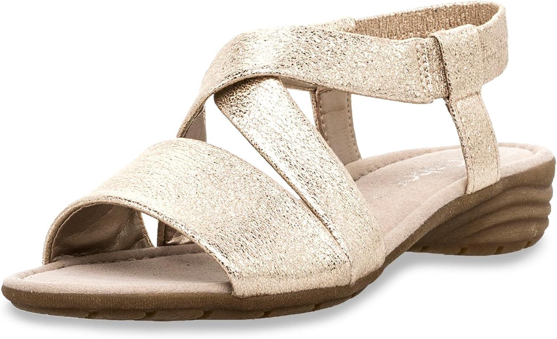 Gabor Damen Sandaletten NV 84.550.63 63 grau 443871  | Produktqualität