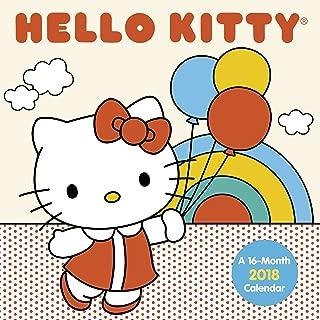 Hello Kitty 2018 Mini Wall Calendar