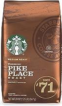 Starbucks Medium Roast Ground Coffee - Pike Place Roast - 100% Arabica - 1 Bag (20 Oz.)