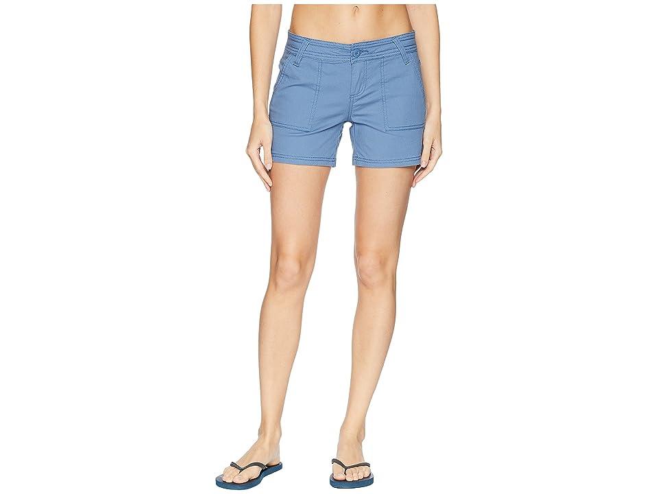 Prana Tess Shorts 5 (Sunbleached Blue) Women